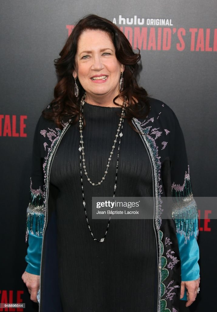 Ann Dowd attends the premiere of Hulu's 'The Handmaid's Tale' on April 19, 2018 in Hollywood, California.