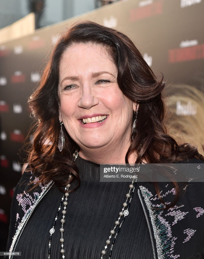 Ann Dowd attends the season 2 premiere of Hulu's 'The Handmaid's Tale' at the TCL Chinese Theatre on April 19, 2018 in Hollywood, California.