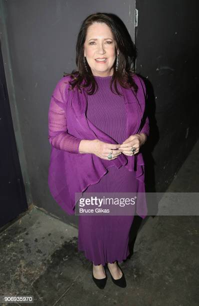 Ann Dowd poses backstage at The 33rd Annual Artios Awards given for excellence in casting at Stage 48 on January 18 2018 in New York City
