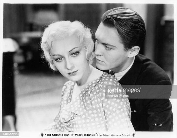 Ann Dvorak and Lee Tracy in a scene from the film 'The Strange Love Of Molly Louvain' 1932
