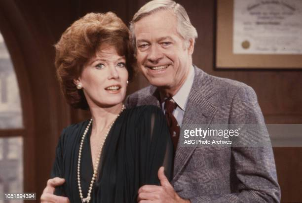 Ann Flood Forrest Compton appearing on the soap opera 'Edge of Night'