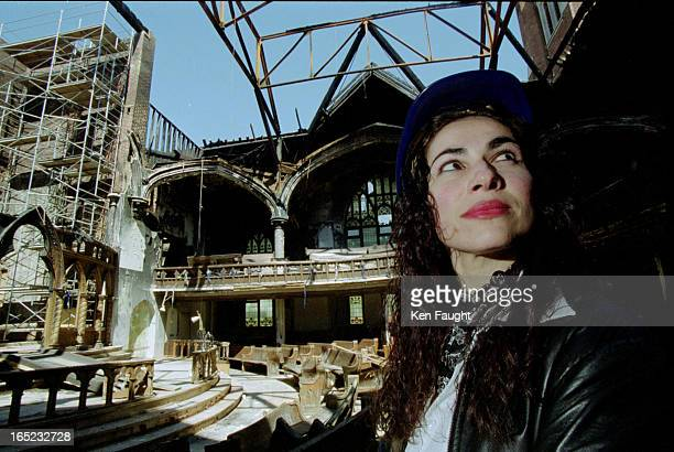 Ann Fortier has a first look at the destroyed interior of her church the Greek Orthodox Metropolis of Toronto The April 3 fire destroyed the roof and...