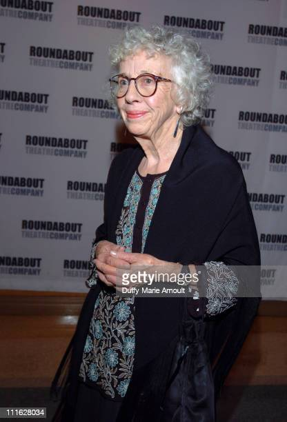Ann Guilbert during 'A Naked Girl on the Appian Way' Broadway Opening Night Arrivals and After Party at American Airlines Theatre in New York City...