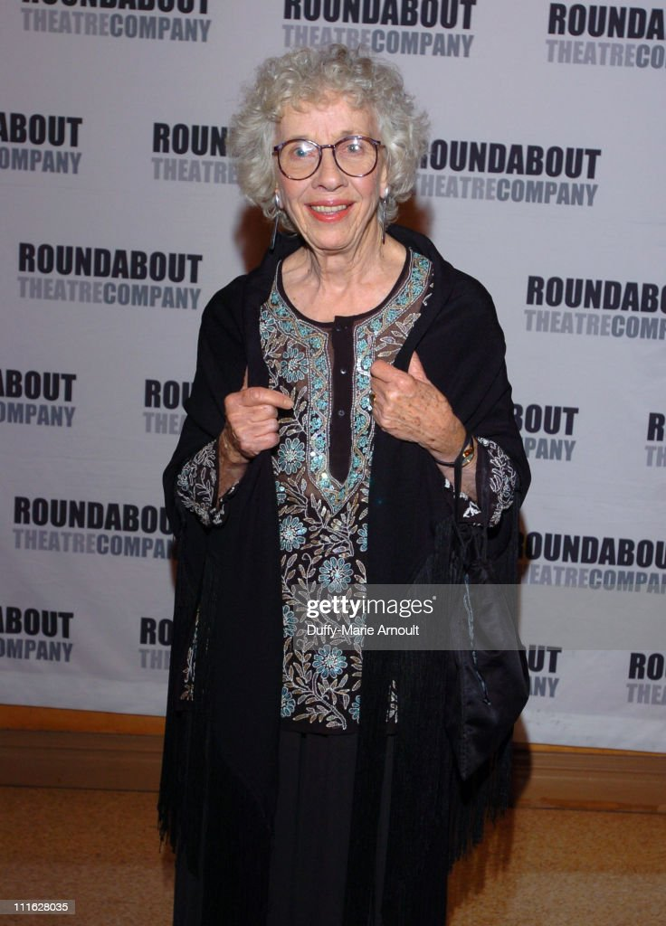 Ann Guilbert during 'A Naked Girl on the Appian Way' Broadway Opening Night - Arrivals and After Party at American Airlines Theatre in New York City, New York, United States.