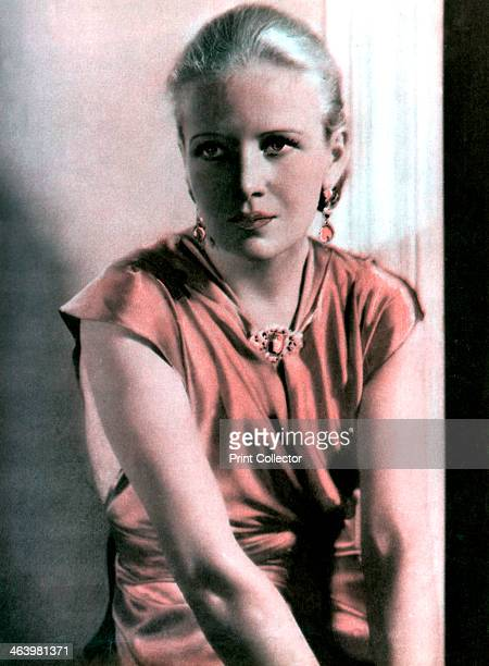 Ann Harding American actress 19341935 Taken from Meet the Film Stars by Seton Margrave