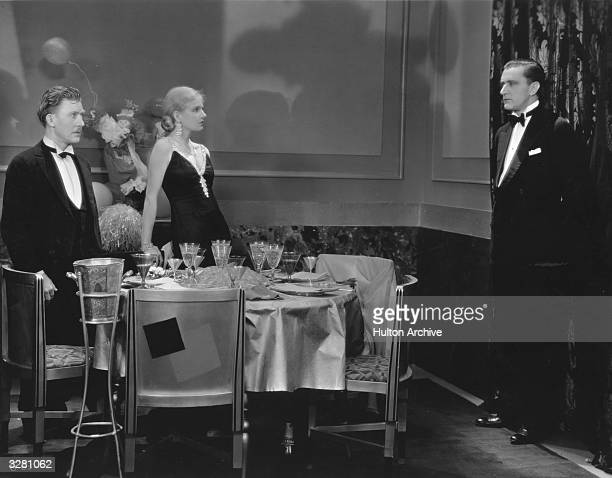 Ann Harding stars with Harry Bannister and Elmer Ballard in the film 'Her Private Affair directed by Paul L Stein and Rollo Lloyd for Pathe'