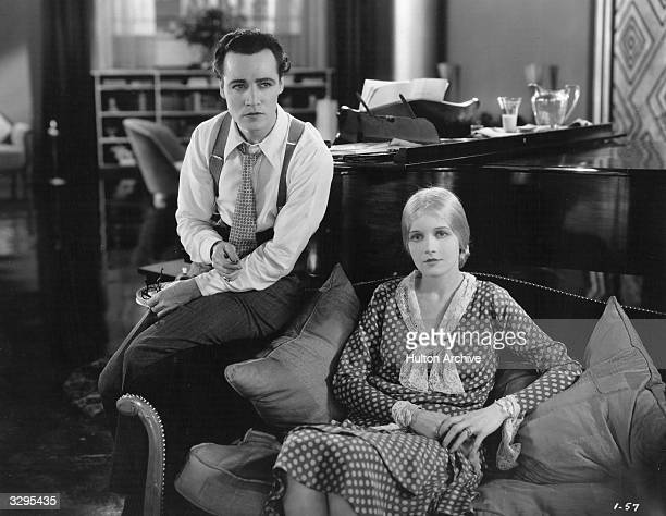 Ann Harding stars with Leslie Fenton a silent star who later turned to directing in the marital drama 'Paris Bound' Title Paris Bound Studio Pathe...