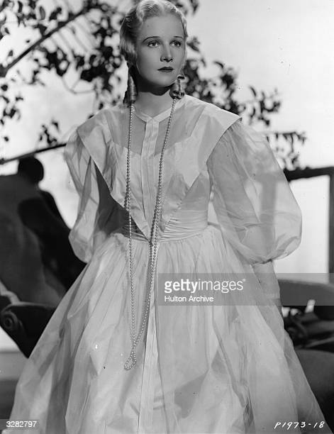 Ann Harding the screen name of Dorothy Gatley the American actress in a scene from the film 'Peter Ibbetson' directed by Henry Hathaway for Paramount