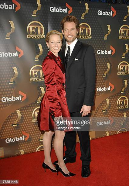Ann Heche and James Tupper attends The 22nd Annual Gemini Awards at the Conexus Arts Centre on October 28, 2007 in Regina, Canada.