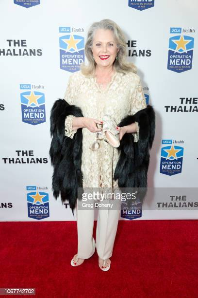 Ann Jillian attends The Thalians Holiday Party with Kira Reed Lorsch as Chair at Bel Air Country Club on December 1 2018 in Los Angeles California