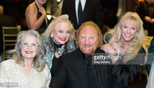 Ann Jillian Carol Connors David McKenzie and Laura McKenzie attend The Thalians Holiday Party with Kira Reed Lorsch as Chair at Bel Air Country Club...