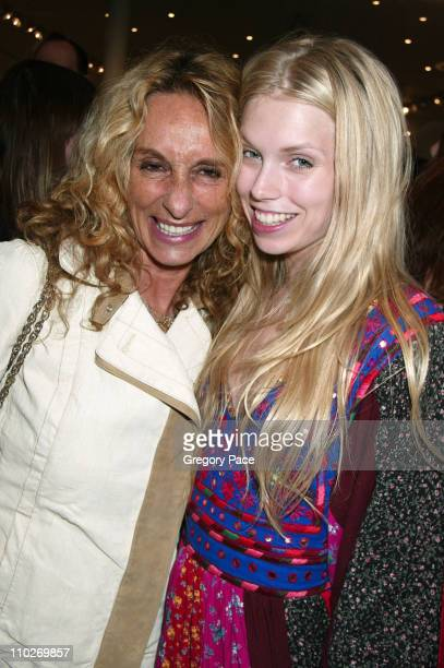 Ann Jones and Theodora Richards during Intermix Opens Flagship Store In SoHo at Intermix SoHo in New York City New York United States