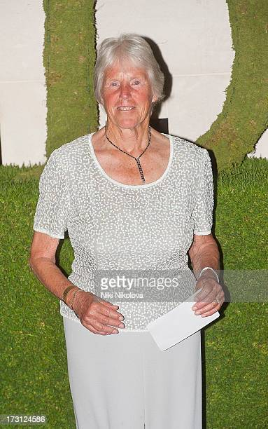 Ann Jones sighting at the InterContinental Park Lane Hotel on July 7 2013 in London England