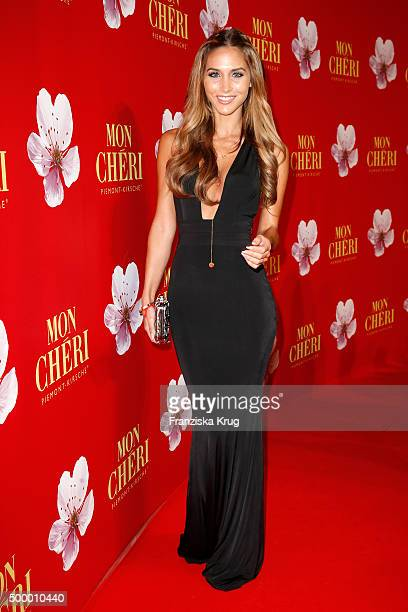 Ann Kathrin Broemmel attends the Mon Cheri Barbara Tag 2015 at Postpalast on December 4 2015 in Munich Germany