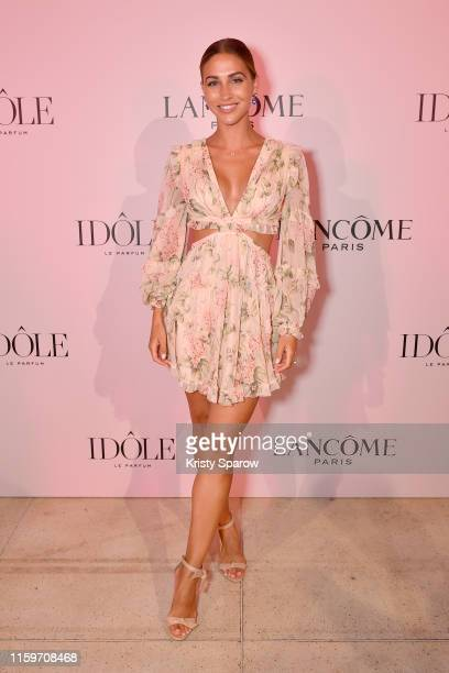Ann Kathrin Gotze attends the Lancôme announces Zendaya as face of new Idôle fragrance at Palais D'Iena on July 02 2019 in Paris France