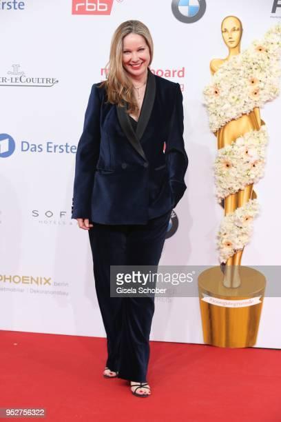 Ann Kathrin Kramer during the Lola German Film Award red carpet at Messe Berlin on April 27 2018 in Berlin Germany