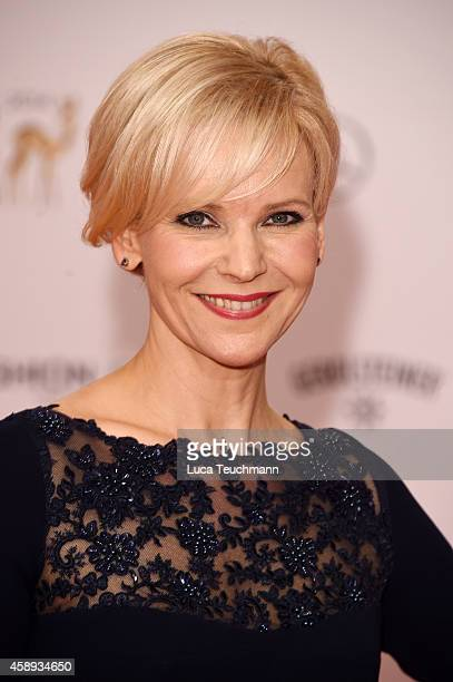 Ann Kathrin Loewig attends Kryolan at the Bambi Awards 2014 on November 13 2014 in Berlin Germany