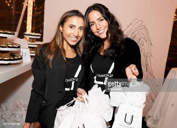 Ann Leitao and Dannay Rodriguez attend the Launch of Pop Shops at The Grove on November 29 2018 in Los Angeles California