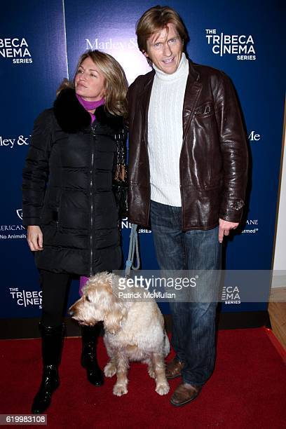 Ann Lembeck Daphne and Denis Leary attend Special Screening of MARLEY AND ME Hosted by JANE ROSENTHAL BETH OSTROSKY and JULIA SZABO at Tribeca...