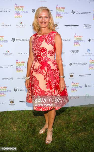Ann Liguori attends Samuel Waxman Cancer Research Foundation 13th Annual Hamptons Happening at a Private Residence on August 5 2017 in Bridgehampton...