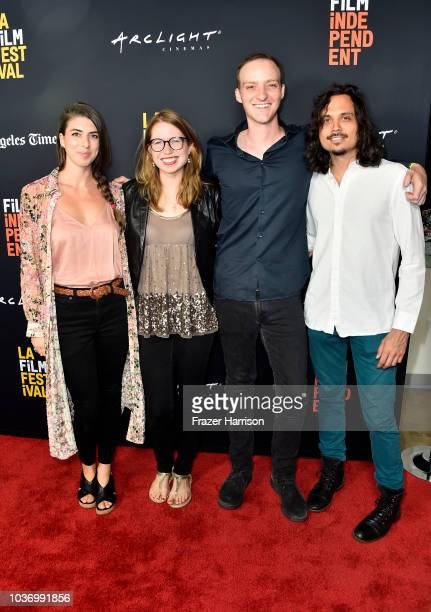 Ann LupoHolly MeehlChristian ChapmanEsrevan Pedraza attend the 2018 LA Film Festival Opening Night Premiere Of 'Echo In The Canyon' at John Anson...
