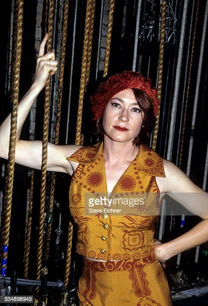 Ann Magnuson at Obie Awards at Palladium, New York, May 24, 1993.
