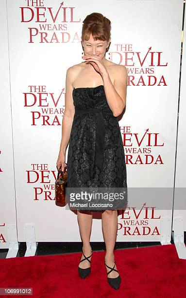 Ann Magnuson during The Devil Wears Prada New York Premiere Arrivals at AMC Loews Lincoln Square in New York City New York United States