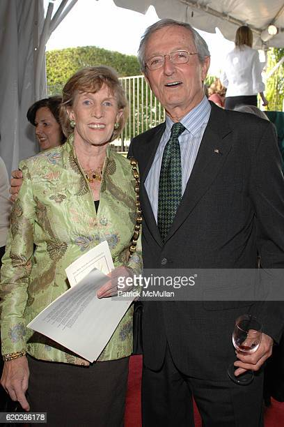 Ann Matthews and Don Matthews attend THE NEW YORK BOTANICAL GARDEN 16th Annual Antique Garden Furniture Show Preview Party Collector's Plant Sale at...