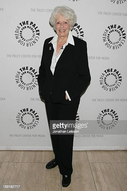 Ann McCrea arrives for The Paley Center For Media Presents 'The Donna Reed Show Reunion' A Salute To The Classic Series' Cast Creative Team at The...
