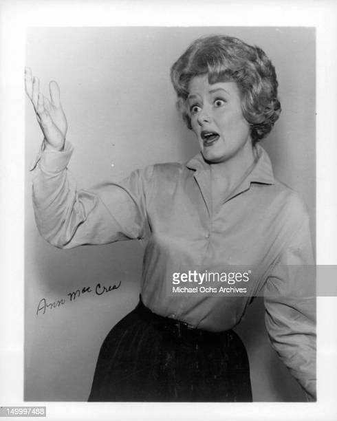 Ann McCrea circa 1960