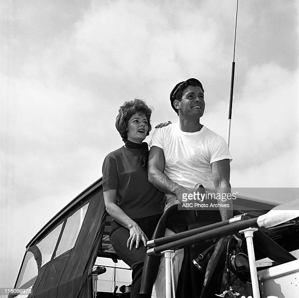 SHOW Ann McCrea Edson Stroll of 'McHale's Navy' Boat Layout Shoot Date October 5 1963 ANN