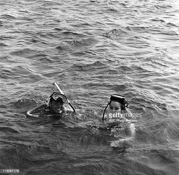 SHOW Ann McCrea Edson Stroll of 'McHale's Navy' Boat Layout Shoot Date October 5 1963 EDSON