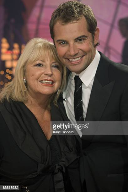Ann McPherson and Daniel MacPherson at the grand final event for Dancing With The Stars 2008 at the Channel Seven studios on November 8 2008 in...