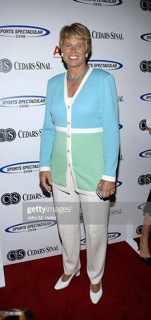 Ann Meyers-Drysdale arrives at the Cedars-Sinai Medical