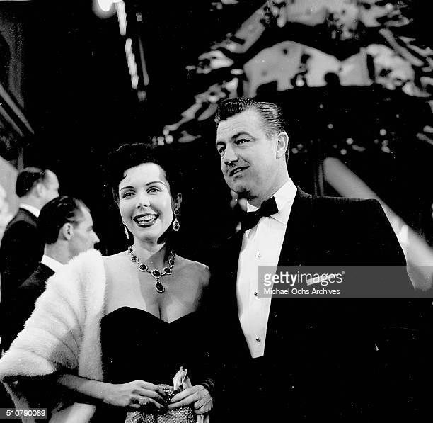 Ann Miller and Bill O'Conner attend an event in Los AngelesCA