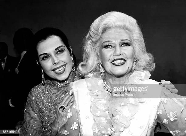 Ann Miller and Ginger Rogers circa 1982 in New York City