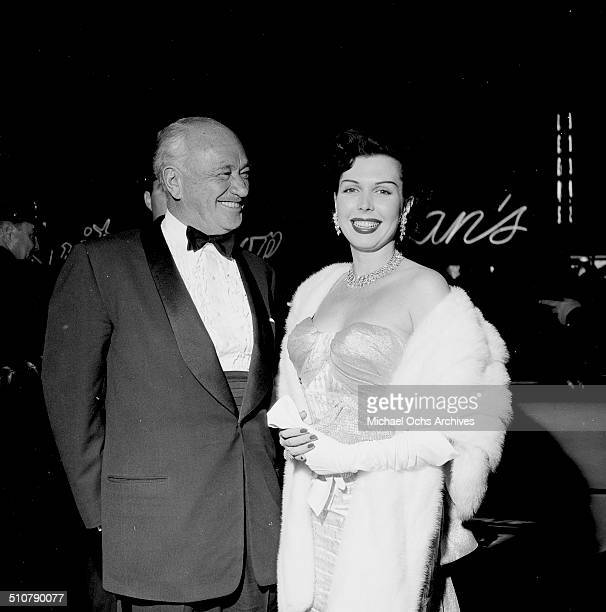 Ann Miller and guest attend an event in Los AngelesCA