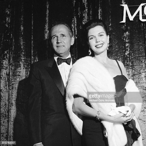 Ann Miller and guest attend movie premiere and party for Moby Dick in Los AngelesCA