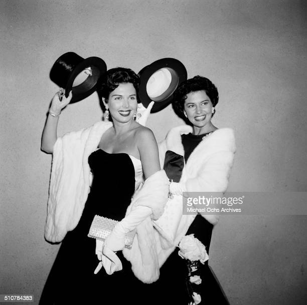 Ann Miller attends a movie premiere at the Egyptian Theatre in Los AngelesCA