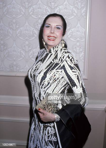 Ann Miller during 18th Annual Nosotros Golden Eagle Awards at Beverly Hilton Hotel in Beverly Hills California United States