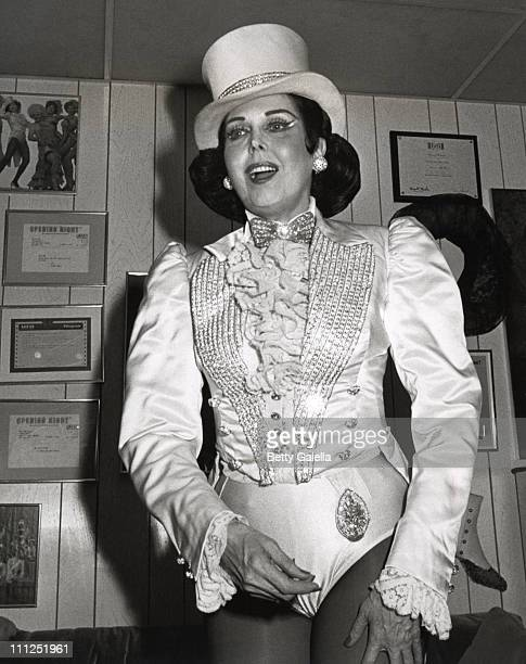 Ann Miller during Backstage At Sugar Babies at Hellinger Theater in New York City New York United States