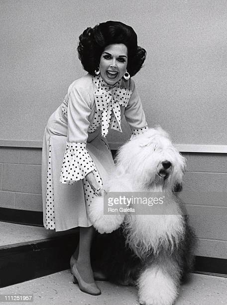 Ann Miller during Backstage of Panama Hattie at Westchester Theater in Westchester New York United States