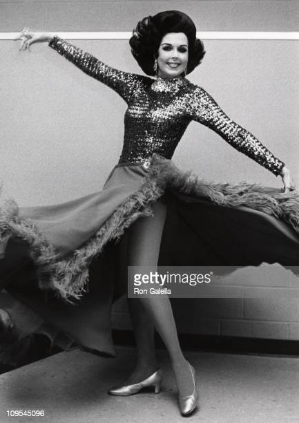 Ann Miller during Backstage of Panama Hattie August 16 1976 at Westchester Theater in Westchester New York United States