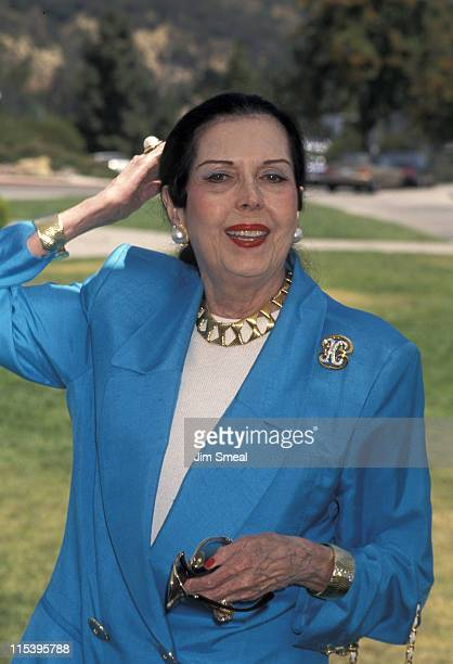 Ann Miller during California Museum Foundation Honors Jane Goodall at Griffith Park Observatory in Los Angeles California United States