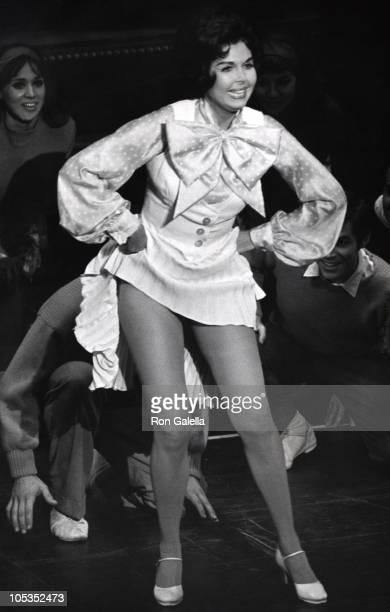 Ann Miller during Performance of Mame in New York City New York United States