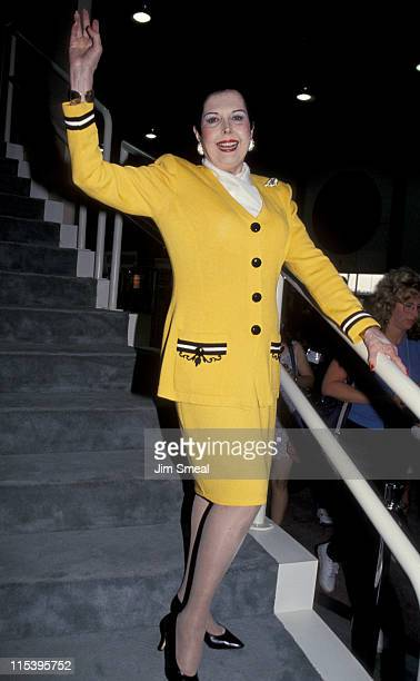 Ann Miller during Video Software Dealers Association Convention July 25 1994 at Las Vegas Convention in Las Vegas Nevada United States