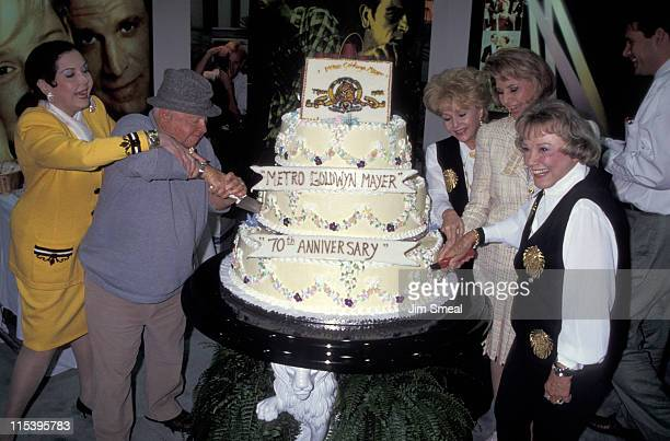 Ann Miller Mickey Rooney Cyd Charisse Debbie Reynolds and June Allyson