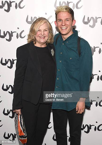 Ann Mitchell and David Moorst attend the press night performance of 'Shopping And Fucking' at The Lyric Hammersmith on October 12 2016 in London...