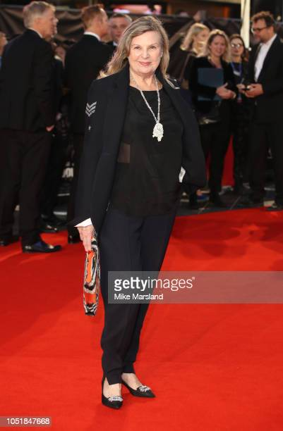 """Ann Mitchell attends the European Premiere of """"Widows"""" and opening night gala of the 62nd BFI London Film Festival on October 10, 2018 in London,..."""