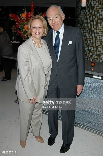 Ann Moore and Leonard Lauder attend Essence celebrates its 35th Anniversary at Time Warner Center on September 12 2005 in New York City